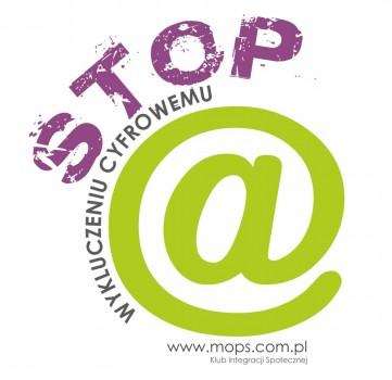 Logo projektu STOP wykluczeniu cyfrowemu