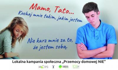 """obraz dla wpisu: """"Przemocy domowej NIE"""" – lokalna kampania społeczna"""