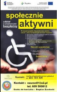 szkolenia dla niepełnosprawnych orazszczegółowe informacje oprojekcie
