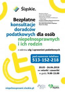 Akcja Doradców Podatkowych dla osób Niepełnosprawnych w2018 roku